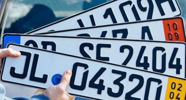 Чтобы заставить «евробляхеров» перейти на украинские номера, нужно снижать стоимость растаможки автомобилей старше 10 лет