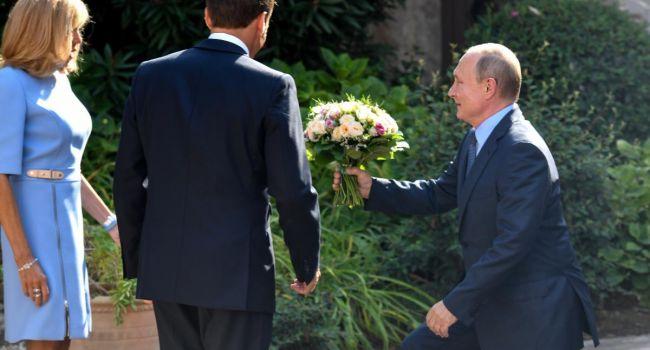 Просто восхищена: Путин удивил комплиментами Брижит Макрон