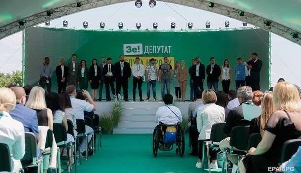 Партия «Слуга народа» выбрала себе лучшие места в зале ВР