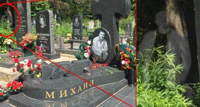 В сети показали фото с могилы Михаила Круга, на котором был запечатлен его дух