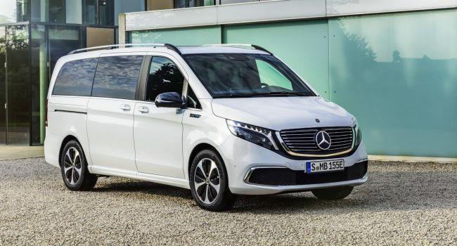 Mercedes-Benz презентовал новый минивэн на электрической тяге