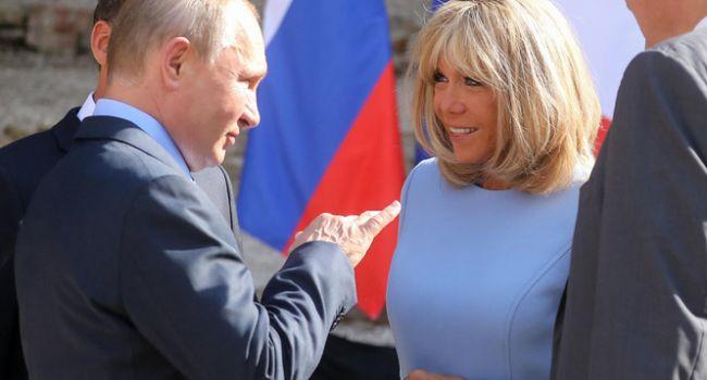 Сильная боль: Maкрон так увлекся Путиным, что забыл о проблеме своей жены