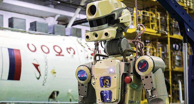 Робот Федор несмог узнать президента Турции