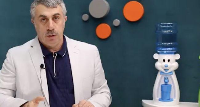 Доктор Комаровский: почему детям до года нельзя спрей для носа?