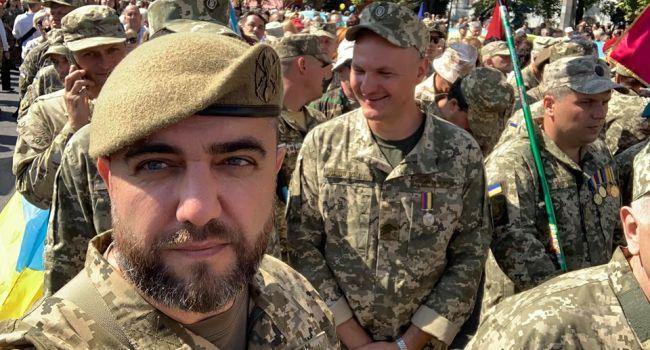 Ветеран АТО: этот парад уже стал историей. Вы теперь сами увидели, что бывает, когда украинцам навязывают свою точку зрения