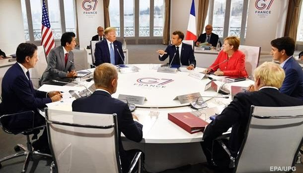СМИ узнали позицию стран G7 по возвращению России