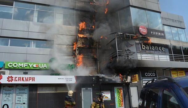 В Украине произошел пожар в еще одном «Токио»