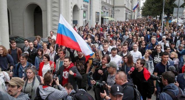 Москву накрыли новые масштабные акции протестов – росСМИ
