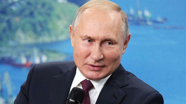 «Настоящая сетевая семья»: Путин обнаружил на карте мире очередное «русскоязычное государство»