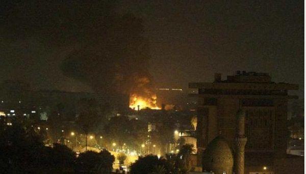 По американскому посольству в США в Ираке нанесли удар российскими ракетами: подробности