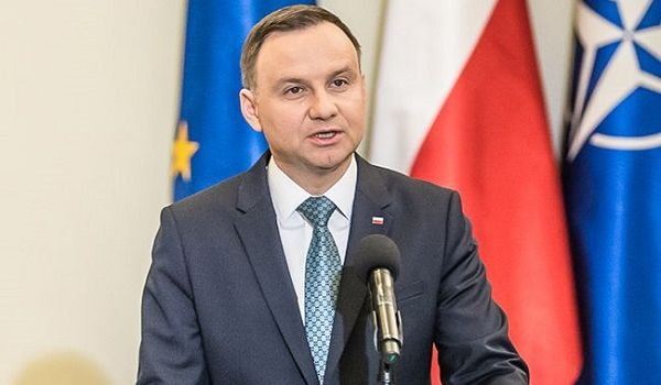 Дуда: Для Польши Вторая мировая война закончилась в 1989 году