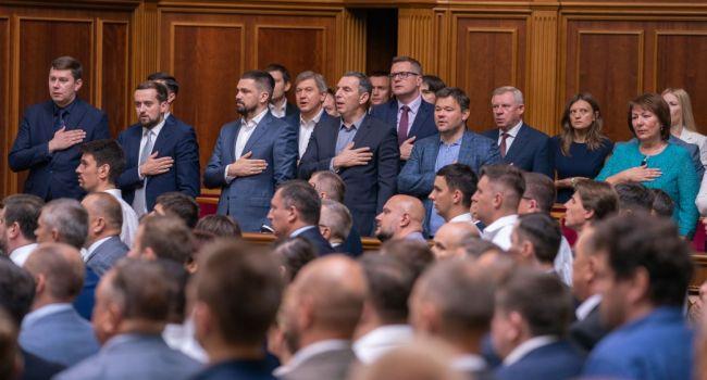В Слуге народа очень переживают за своих нардепов предлагают парламенту ввести политическое крепостничество