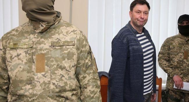 Кирилл Вышинский прибыл на обмен в аэропорт «Борисполь», а Цемах нет