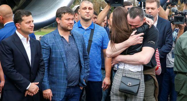 «У всех синдром Савченко»: Россияне удивились внешнему виду освобождённых украинцев