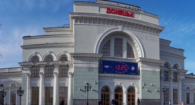 В «ДНР» собираются запустить железнодорожное сообщение с Петербургом и Москвой