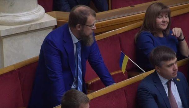 Разумков прокомментировал первый случай кнопкодавства в новой Раде