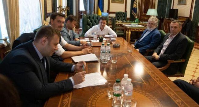 Встреча Зеленского и Коломойского в ОПУ: В Минэнерго рассказали тему разговора