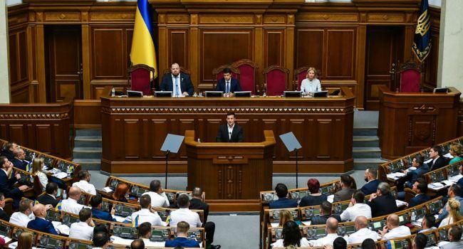 Украинцы дали оценку работе нового парламента