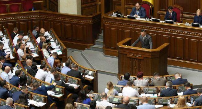 «Пустышка», как прикрытие «формулы Штайнмайера»: Верховная Рада была за шаг до того, чтобы признать Крым российским