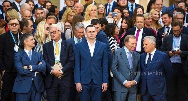 Вся суть в одном снимке: Сенцов здесь – за весь украинский народ – спасибо, что позвали. Заходи, если что
