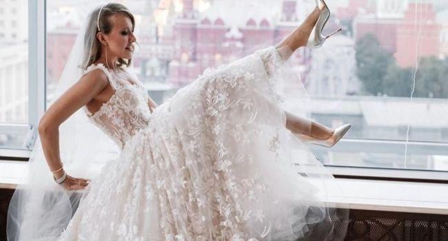 Продолжение свадьбы Ксении Собчак: свадебный катафалк, закрытая церемония венчания и ночь в музее. Что дальше?