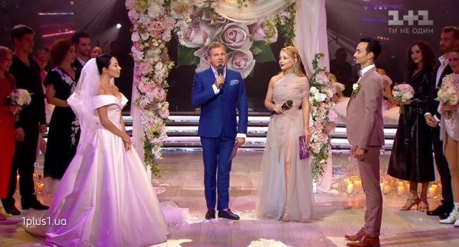 «Бред!!!» Звезда «Танців з зірками» вышла замуж в прямом эфире, сеть неоднозначно отреагировала