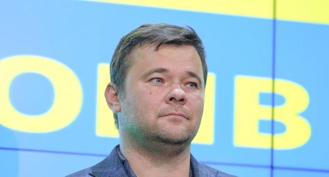 Богдан заявил, что в борьбе с коррупцией за журналистку тоже возьмутся