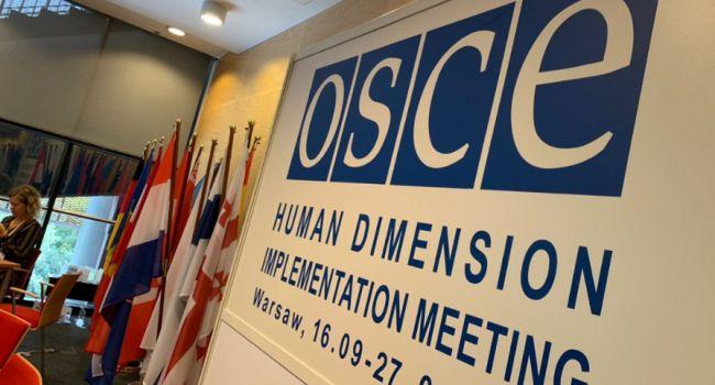 Украинская делегация устроила демарш на заседании ОБСЕ