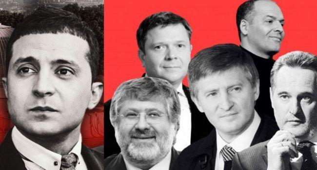 В команде Зеленского рассматривают сценарий, при котором силовые структуры начнут дробить крупный олигархический бизнес в Украине - СМИ