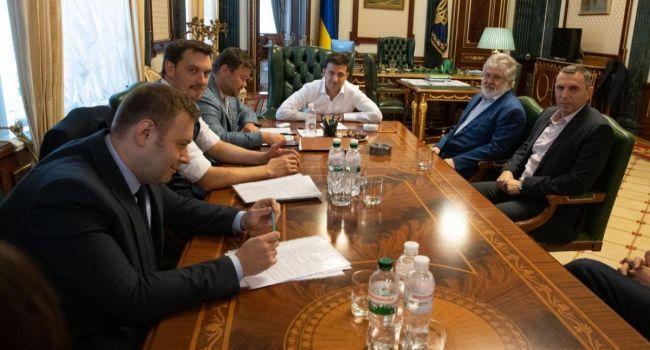 Богдан поведал о деталях встречи с Коломойским