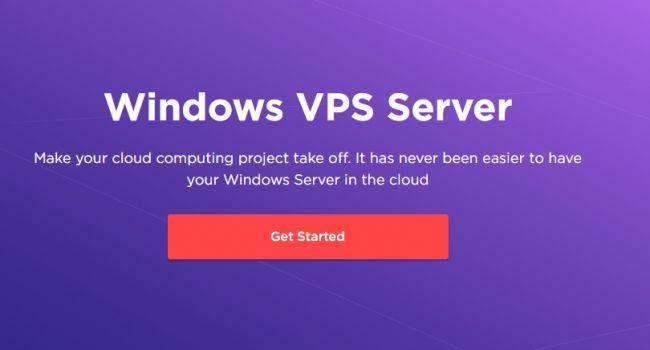 Виртуальный сервер VPS/VDS на Windows Server