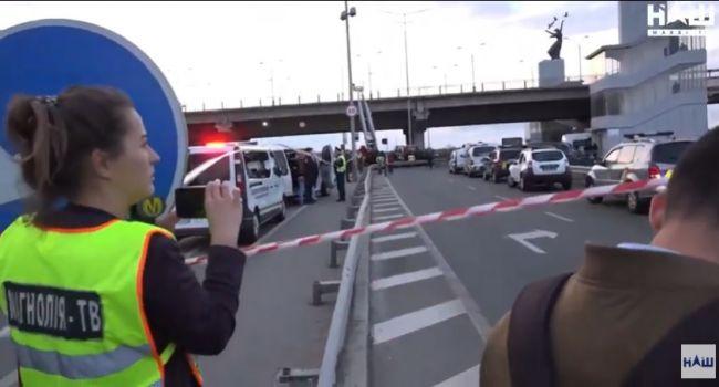 «Все очень серьезно!»: Обнародовано видео с расстрелянного преступником БПЛА на мосту Метро
