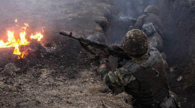В штабе ООС рассказали о масштабном наступлении боевиков на позиции ВСУ