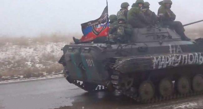 «Будет война?! Вы только гляньте, сколько единиц техники, танки, БМП, офигеть»: РФ стянула очень много бронетехники к Мариуполю