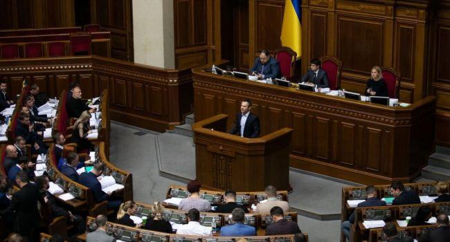 Проведение выборов в ОРДЛО без контроля границы с РФ является сдачей национальных интересов - Вакарчук