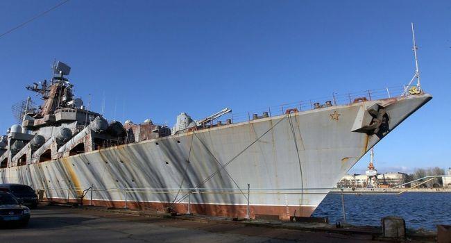 Абромавичус намерен продать ракетный крейсер «Украина»