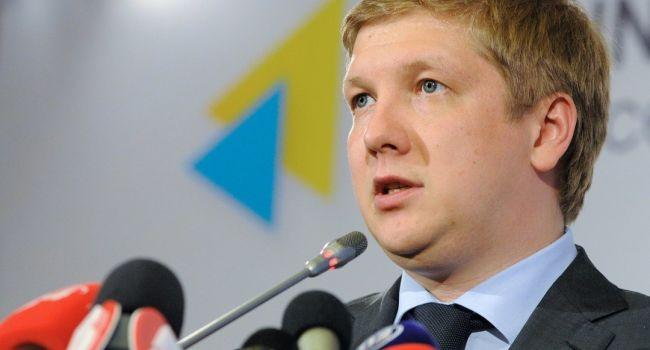 Без подписанного контракта транзит российского газа через украинскую территорию осуществляться не будет - Коболев