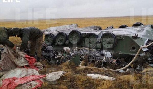 На военных учениях в России разбили военную технику: в сети показали видео инцидента
