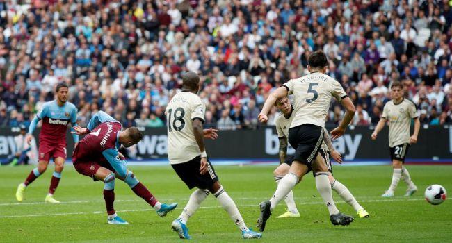 Гол Андрея Ярмоленко помог «Вест Хэму» обыграть «Манчестер Юнайтед»