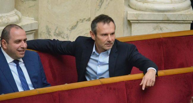 Ветеран АТО: может этот поступок Вакарчука раскроет глаза его избирателю или ему тоже надо «дать еще 100 дней»?