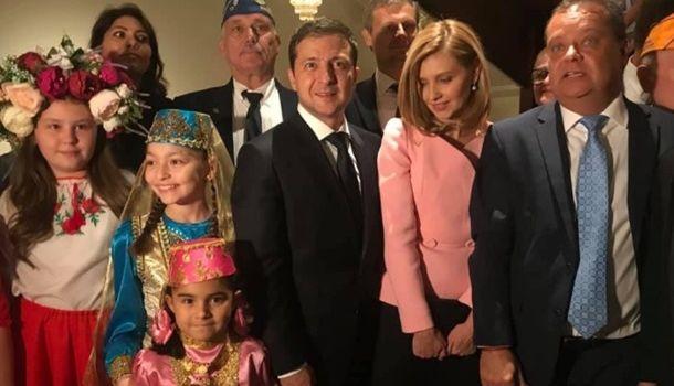 Зеленский в США встретился с представителями украинской общины