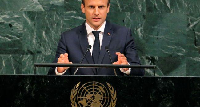 Макрон на ГА ООН намекнул, что Зеленский и Путин нашли «общий язык»