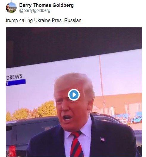 «Новый российский президент»: Дональд Трамп публично назвал Зеленского главой России