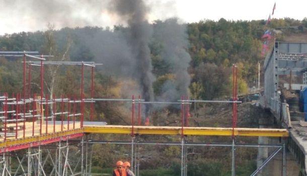 В Станице Луганской завершается строительство обходного моста