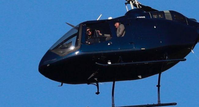 Кличко и Том Круз посмотрели на Киев с высоты птичьего полёта: фоторепортаж