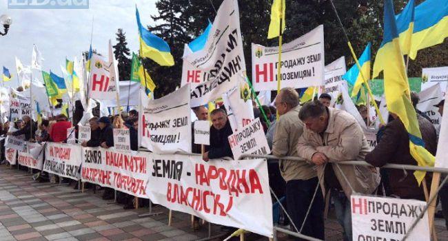 Банкир назвал единственный случай, когда украинскую землю могут скупить за бесценок