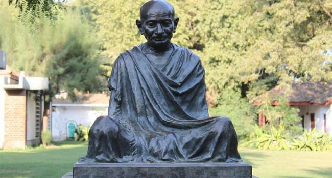 В Индии неизвестные похитили прах Махатмы Ганди