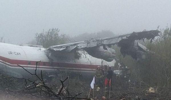Вблизи Львова разбился транспортный самолет, есть жертвы
