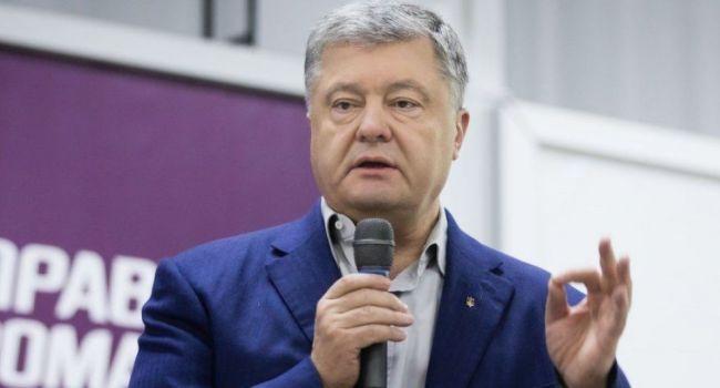 Петр Порошенко поддержал Зеленского и положительно прокомментировал его видеообращение к украинцам