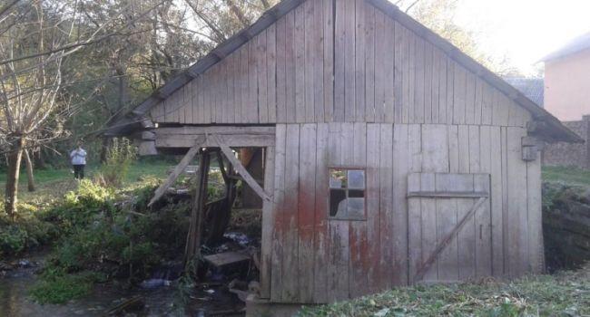 Заброшенную водяную мельницу на Прикарпатье сделают туристическим объектом